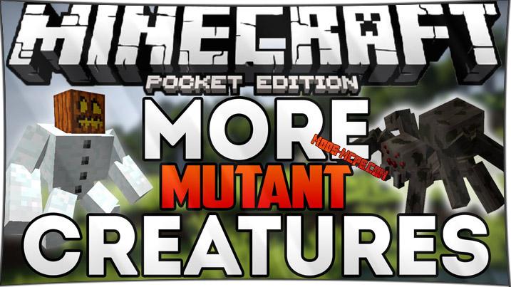 More Mutant Creatures - мод на мутантов 1.1, 1.0, 0.15, 0.14