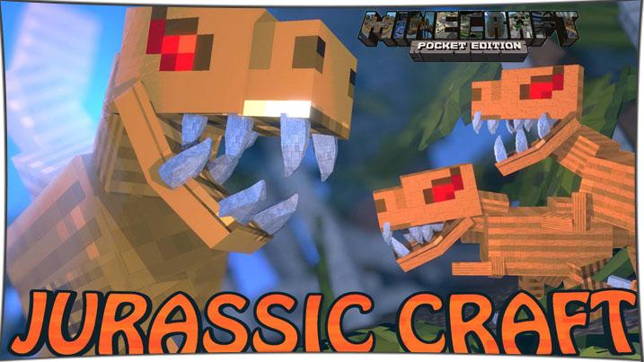 Jurassic Craft - мод на динозавров 1.2, 1.1.5