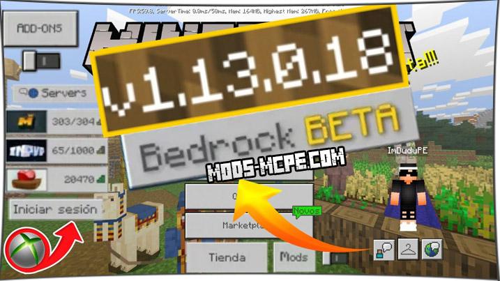 Скачать Майнкрафт 1.13.0.18
