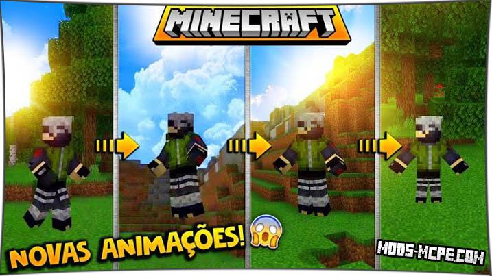 Animated Player - мод на анимацию персонажа