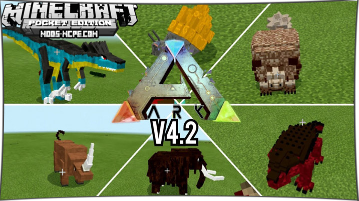 Arkcraft - мод на мобов из АРК