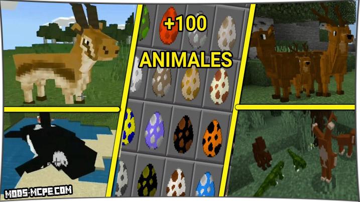 yCreatures - мод на новых животных