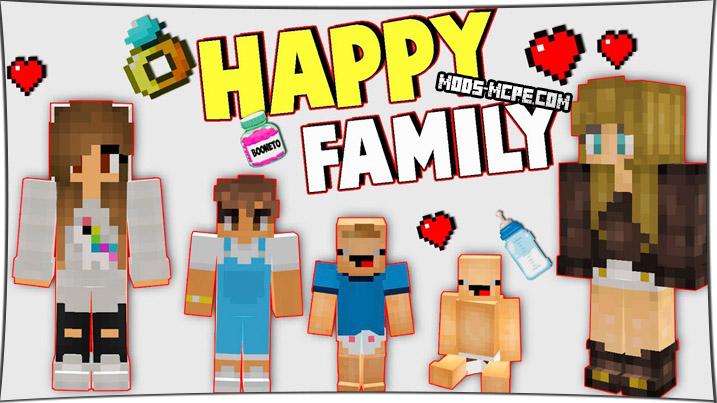 Happy Family - мод на семью