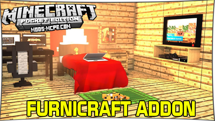 Furnicraft - мод на мебель