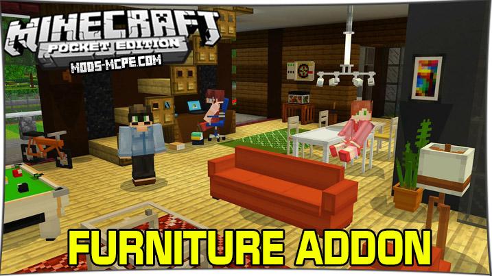 Furniture - мод на мебель и декор