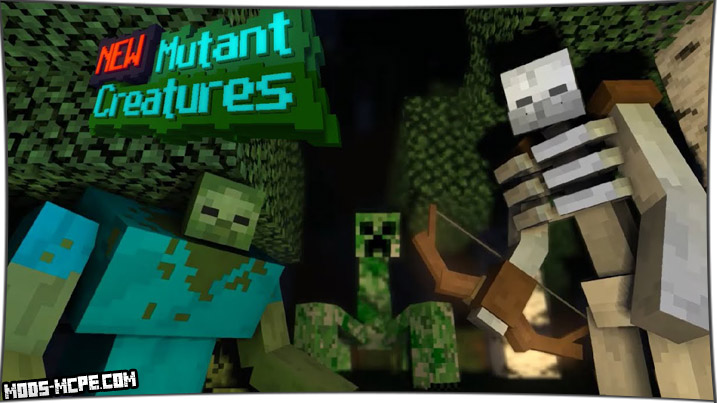 Mutant Creatures - мод на мутантов