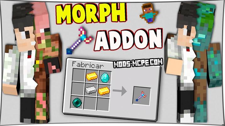 Morph - мод на превращение в мобов
